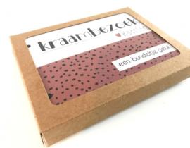Kraambezoekkaarten bundel - roze