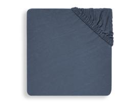 Hoeslaken jersey 40x80/90cm Jeans blue - Jollein