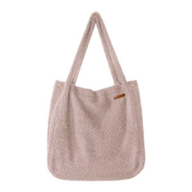 Bouclé Blush Mommy Tote Bag - Your Wishes