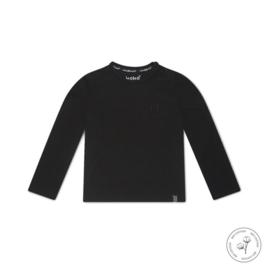Jongens shirt Nate zwart Bio Cotton - Koko Noko