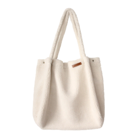 Teddy off-white Mommy Tote Bag - Your Wishes