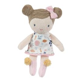 Knuffelpop Rosa 10 cm - Little Dutch