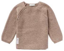 Cardigan Knit Pino Taupe melange - Noppies