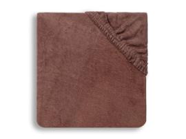 Aankleedkussenhoes badstof 50x70cm chestnut - Jollein