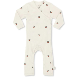 Newborn onesie cherry - Konges Sløjd