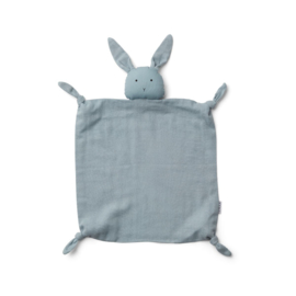 Knuffeldoek Rabbit sea blue - Liewood