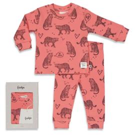 Feetje pyjama Roarr Ruby Roze - Feetje