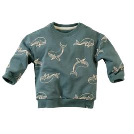 Sweater Alladin-Peaky petrol - Z8