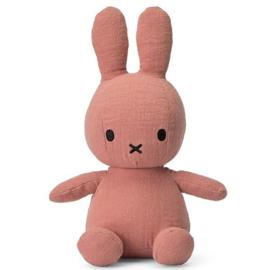 Nijntje mousseline pink – 23 cm