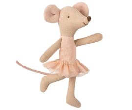 Kleine zus muis ballerina - Maileg