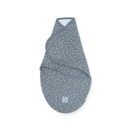 Inbakerdoek 0-3 maanden Spickle Grey - Jollein