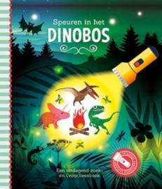 Zaklampboek Speuren in het dinobos