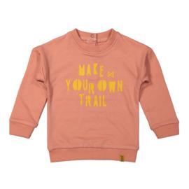 Girls Sweater dusty pink - Koko Noko