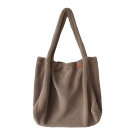 Teddy taupe Mommy Tote Bag - Your Wishes