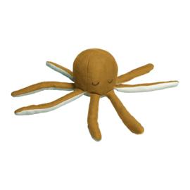Oker octopus rammelaar - Fabelab