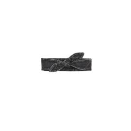 Haarbandje Renske Stonewash black - Z8