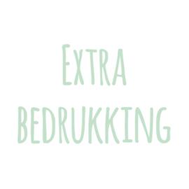 Extra bedrukking