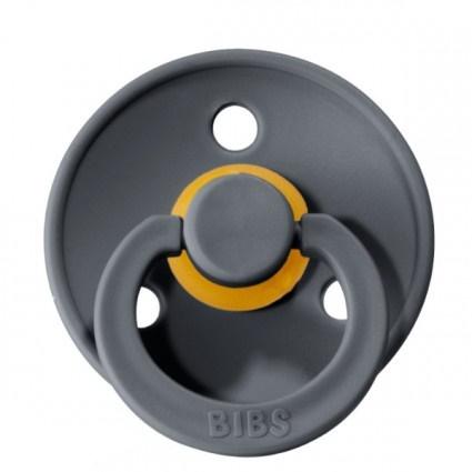 Bibs fopspeen natuurrubber Iron - Maat 1