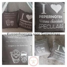 Sint en Piet kussenhoes