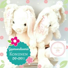 Gepersonaliseerde konijnen