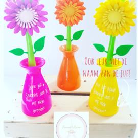 Fleurige, gepersonaliseerde afwasborstel