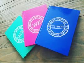 Notitieboek met harde kaft
