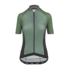 Bioracer Cold Black Light Sprinter Jersey Olive - Maat XL