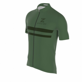 .Zyclist Roubaix Jersey Green - Maat S