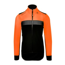 Bioracer SPITFIRE TEMPEST PROTECT JACKET FLUO ORANGE - Maat XL