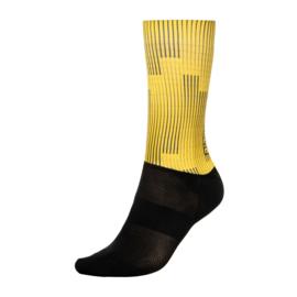 Bioracer Summer Socks Warp Yellow - Maat L (42-44)