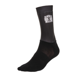 Bioracer Aero Sock Zwart - Maat S