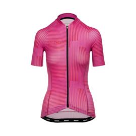 Bioracer Vesper Jersey Warp Pink (2021) - Maat S