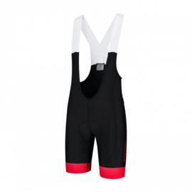 Rogelli Flex Bibshort Zwart/Rood - Maat L