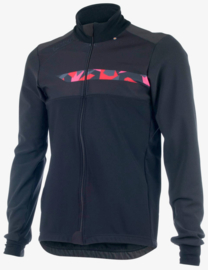Bioracer Spitfire Tempest Protect Winter Jacket Black/Red - Maat M
