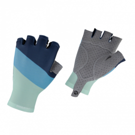 Rogelli Gloves Kai Turquoise/Blauw - Maat L