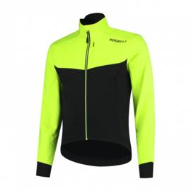 Rogelli Contento 2.0 Winterjacket Zwart/Fluor - Maat S