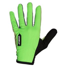 Q36.5 Hybrid Que Glove Green - Maat XL