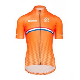 Bioracer Netherlands Bodyfit Short Sleeve Jersey 2.0 - Maat S t/m XXL