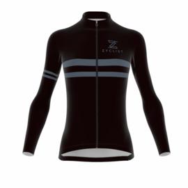 .Zyclist Strade Light Jacket Black/Grey - Maat M