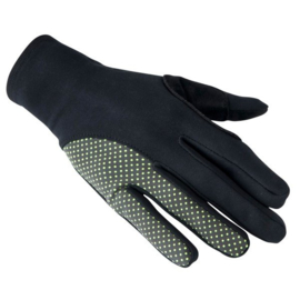 Bioracer One Gloves Tempest Protect Pixel Black/Yellow - Maat S