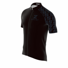 .Zyclist Roubaix Jersey Black - Maat M