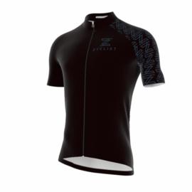 .Zyclist Roubaix Jersey Black - Maat XS