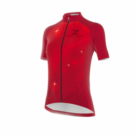 .Zyclist Strade Jersey Space Red - Maat L