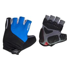 Rogelli Cycling Glove Rockford Blauw/Zwart/Wit - Maat S