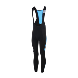 Rogelli Stealth Bibtight Black/Blue - Maat S