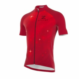 .Zyclist Roubaix Jersey Space Red - Maat L