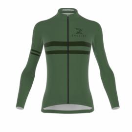 .Zyclist Strade Light Jacket Women Green - Maat XS