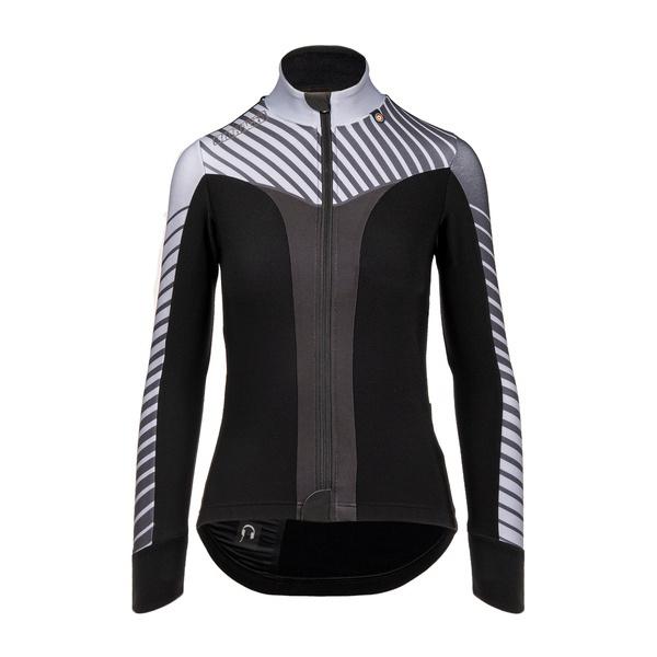 Bioracer Vesper Tempest Spring Jacket Subli Grey Stripe - Maat XS