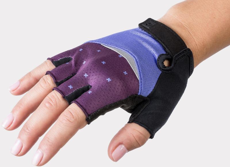 Bontrager Anara Women's Gloves Ultraviolet Crosses - Maat M