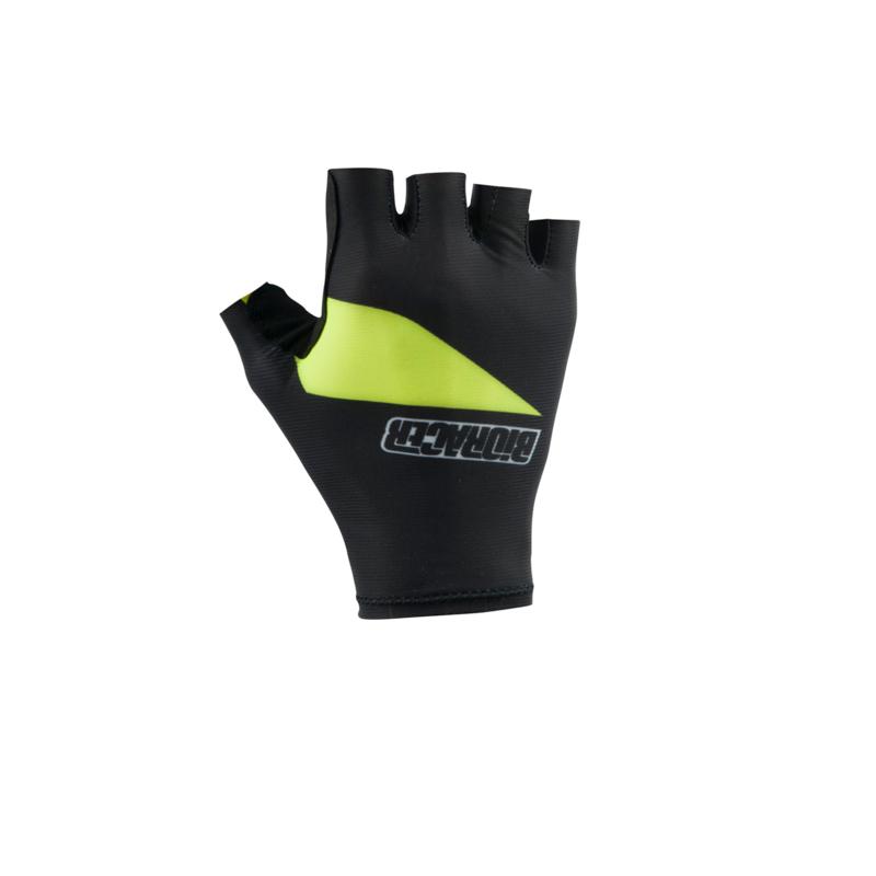 Bioracer One Gloves Black/Yellow - Maat S